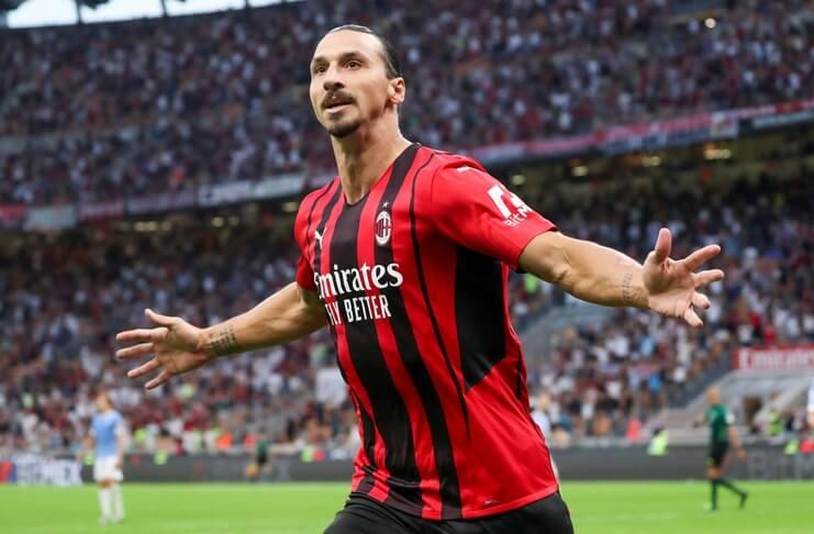 AC Milan Vs Lazio Zlatan Ibrahimovic Cetak Gol, Il Rossoneri Menang Mudah (@if2is)