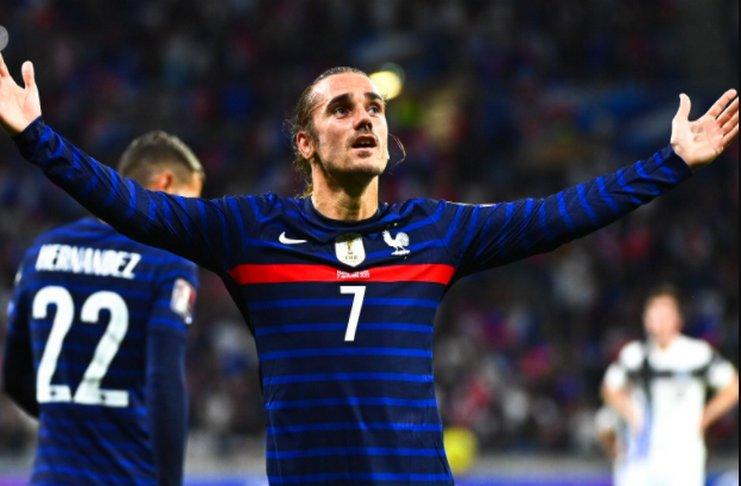 Prancis vs Finlandia: Tahap Antoine Griezmann